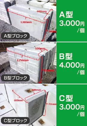 残コンブロック(リサイクルブロック)を製造・運搬まで対応!